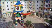 Upea Legohotelli avattiin Floridan Legolandiaan